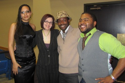 Tristan Taormino and the leaders of Sol, the LGBT Multicultural Support Network!
