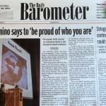 Tristan Taormino Daily Barometer cover