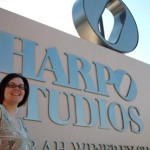 Tristan at Harpo Studios for Laura Berman show